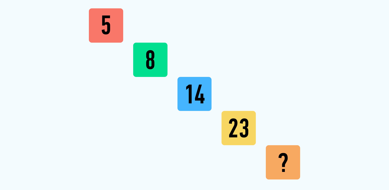 найди закономерность задача 3