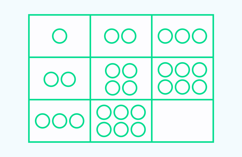 найди закономерность задача 6