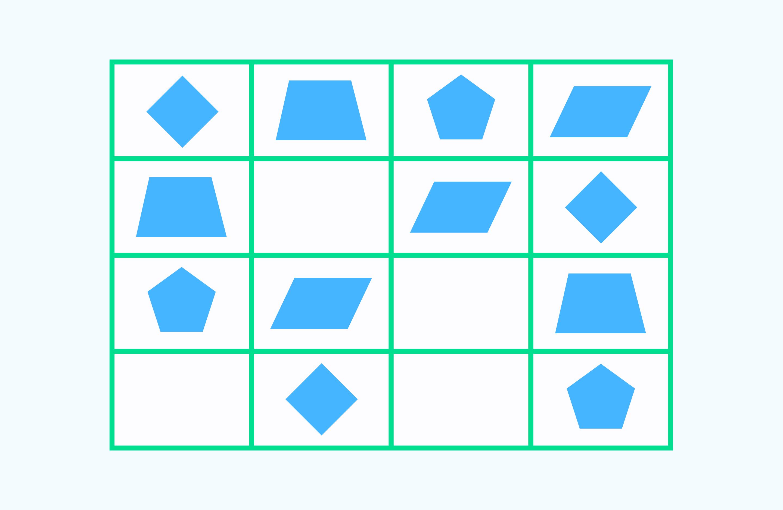 найди закономерность задача 8