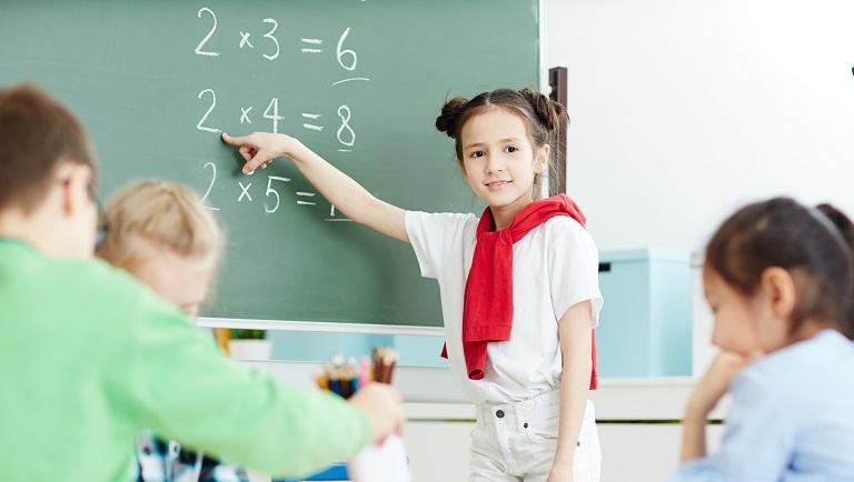 таблица умножения для школьников