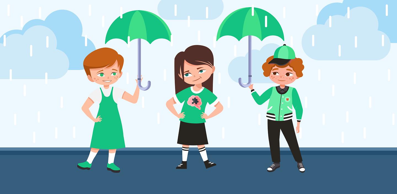 головоломка про дождь