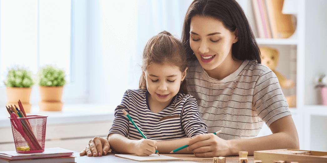 Как научить ребенка писать буквы и цифры