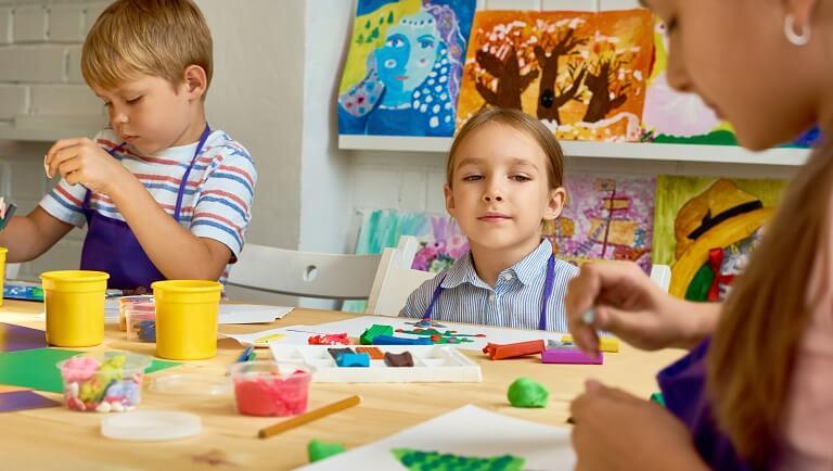 формирование сенсорных эталонов у детей