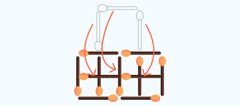 ответ на задачку со спичками