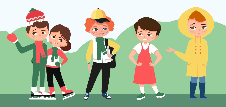 времена года для дошкольников