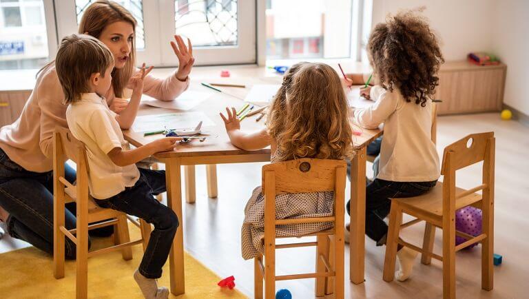 дети легко адаптируются к садику