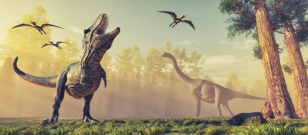 Интересное про динозавров для детей