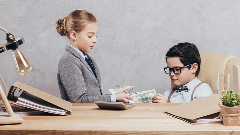 формирование финансовой грамотности у детей при помощи игр