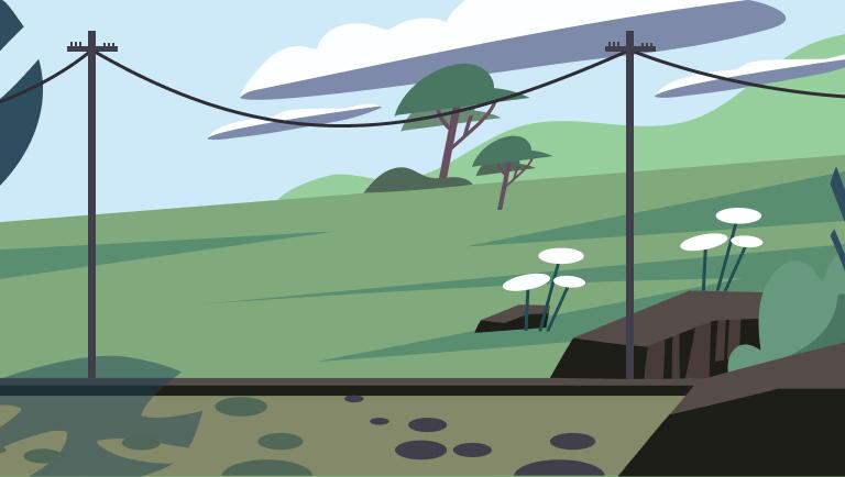 как электричество попадает в дома
