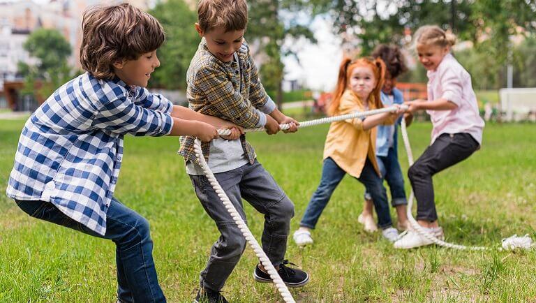 подвижные игры для школьников начальных классов