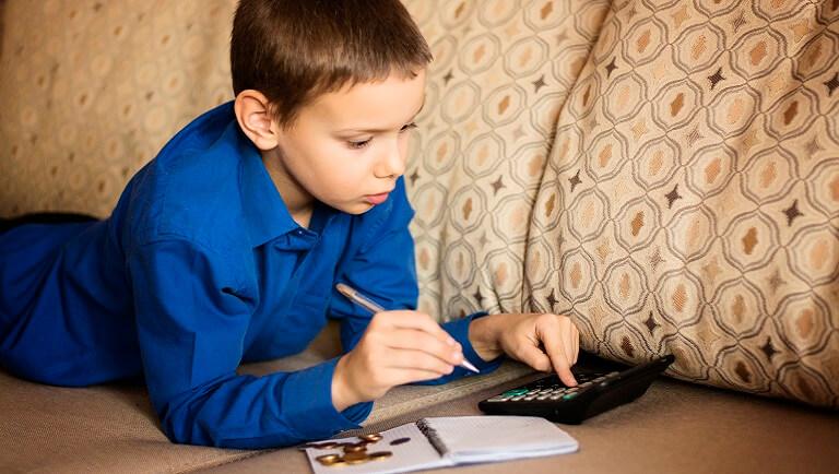 ребенок ведет личный бюджет