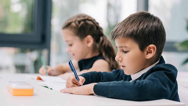 школьники учатся писать без ошибок