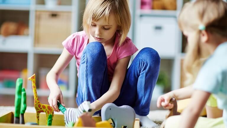 степени адаптации к детскому саду