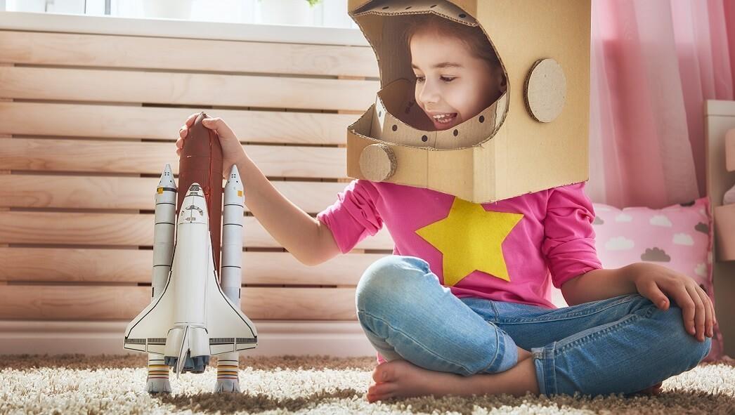 Детям про космос