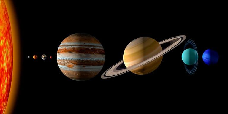 космос и планеты для детей