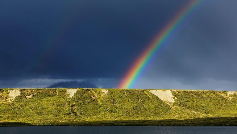 природное явление радуга для детей