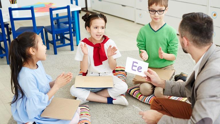 урок английского алфавита для детей